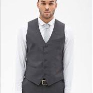 NWT Men's Colorblock Suit Vest